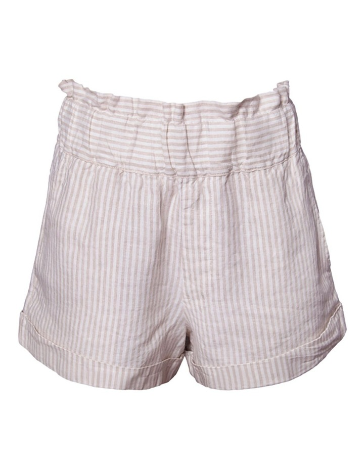 Linen Paperbag Shorts image 1