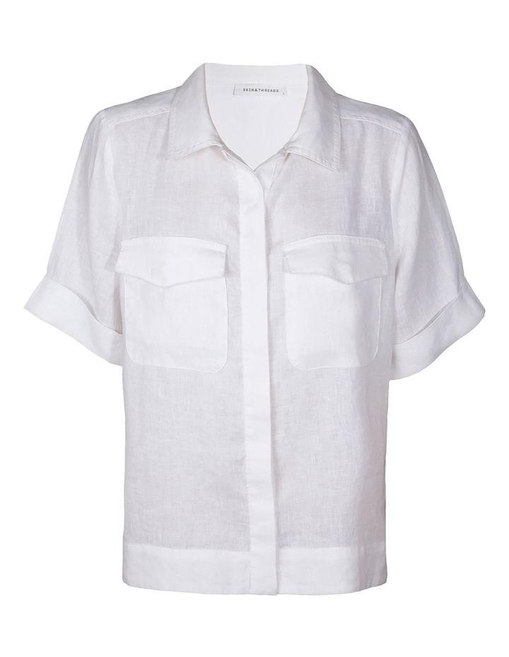 Linen Relaxed Shirt image 1