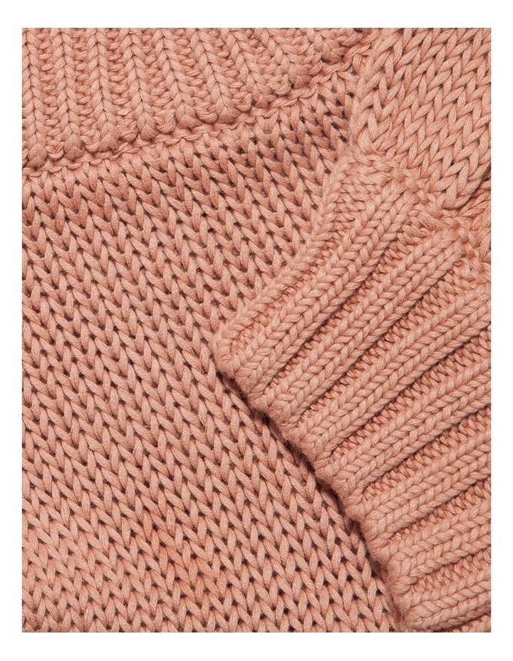 Cotton-Linen Puff Sleeve Knit image 2