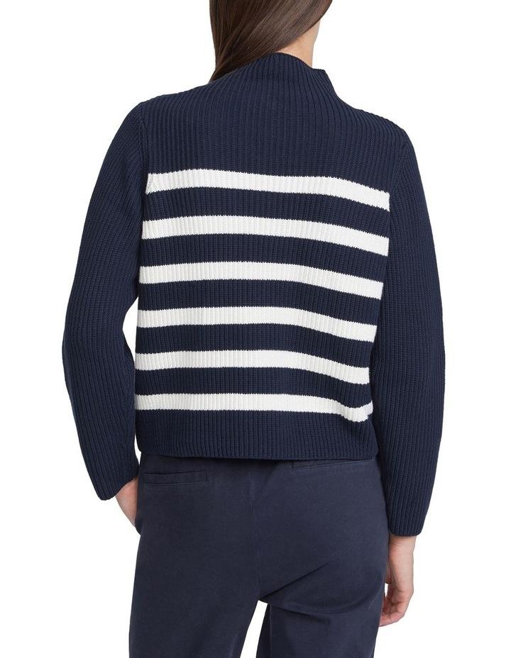 Chunky Cotton Stripe Knit image 3