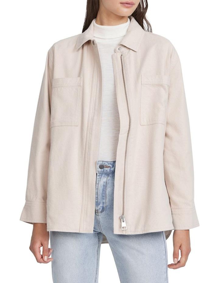 Oversized Flannel Jacket image 1