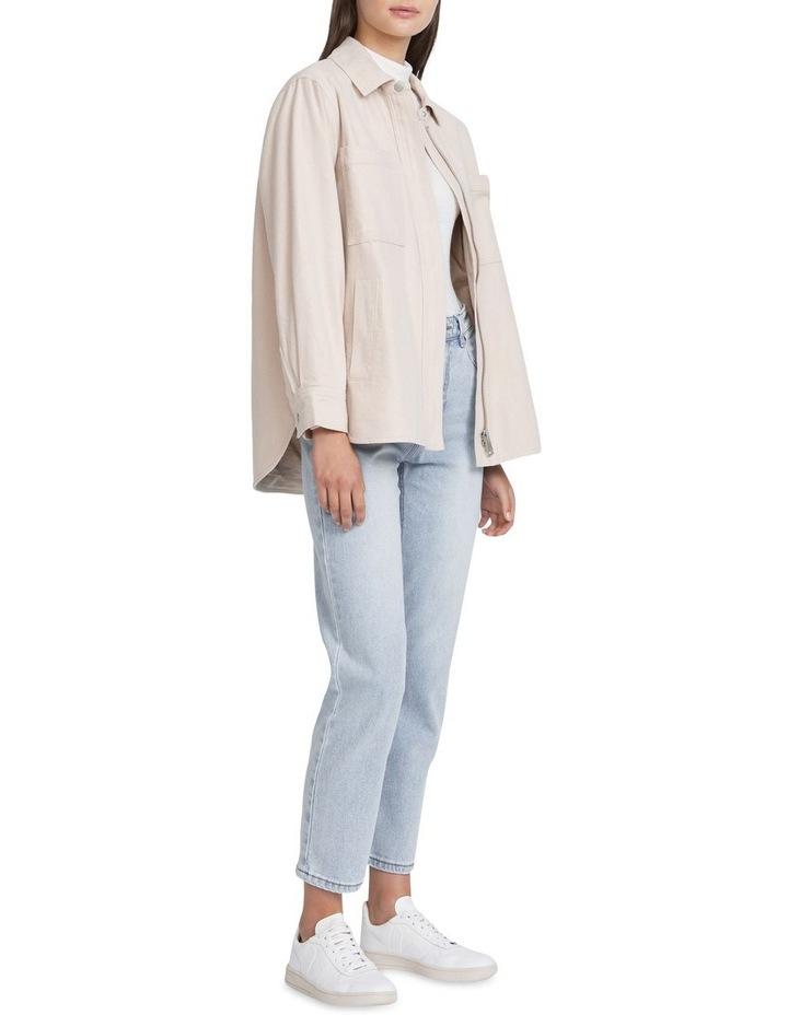 Oversized Flannel Jacket image 2