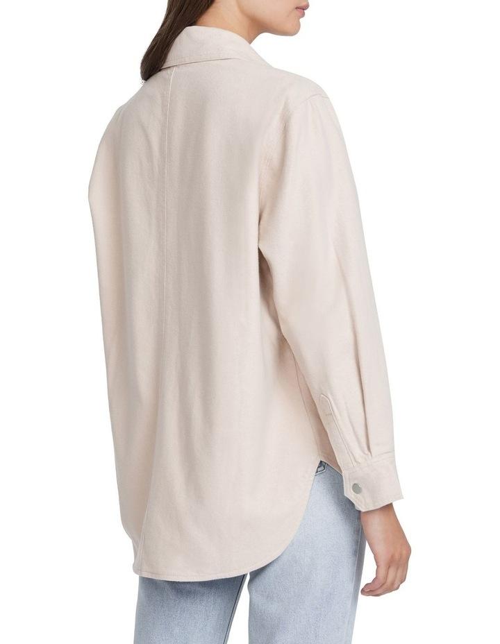 Oversized Flannel Jacket image 3
