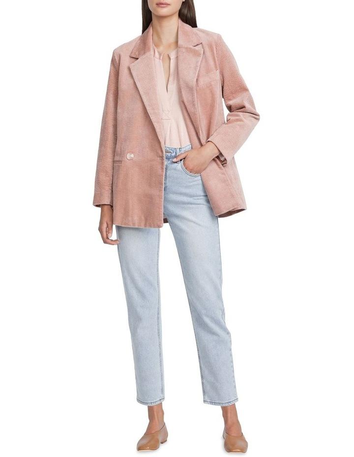 Textured Cotton Blazer image 2