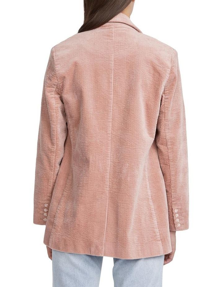 Textured Cotton Blazer image 3