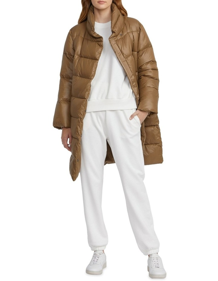 Belted Puffer Jacket image 1