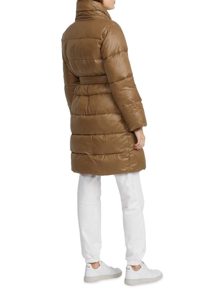 Belted Puffer Jacket image 2