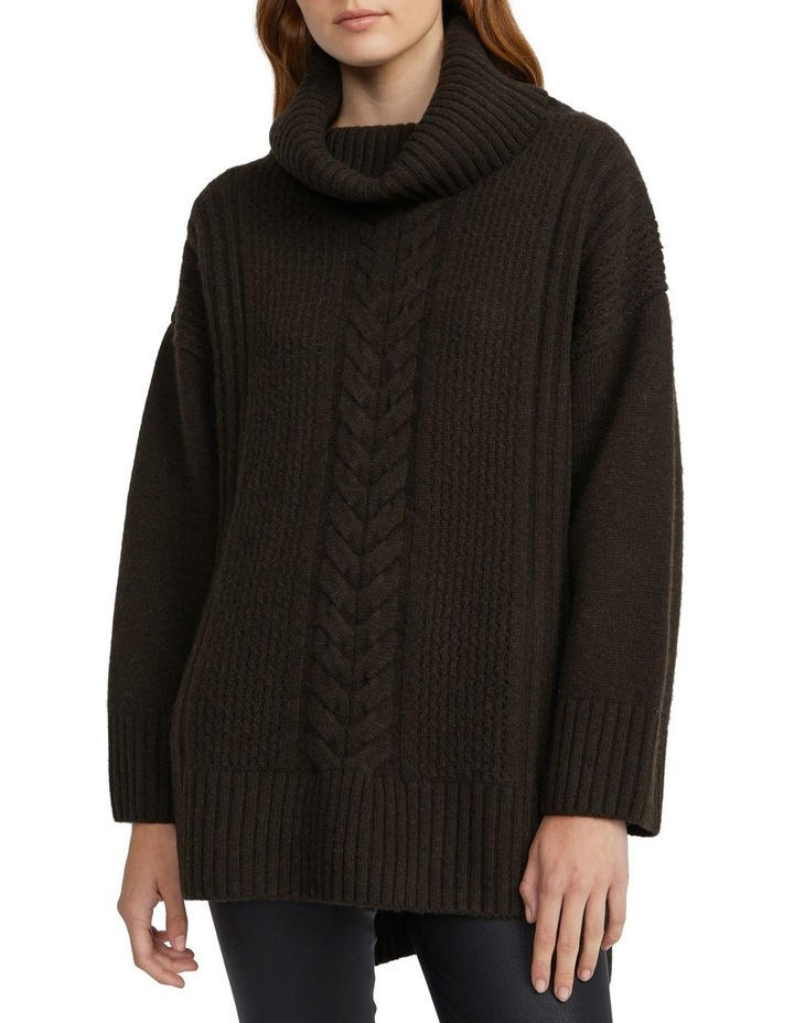 Oversized Cable Knit image 1