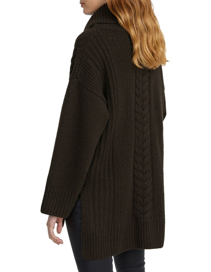 Oversized Cable Knit image 3