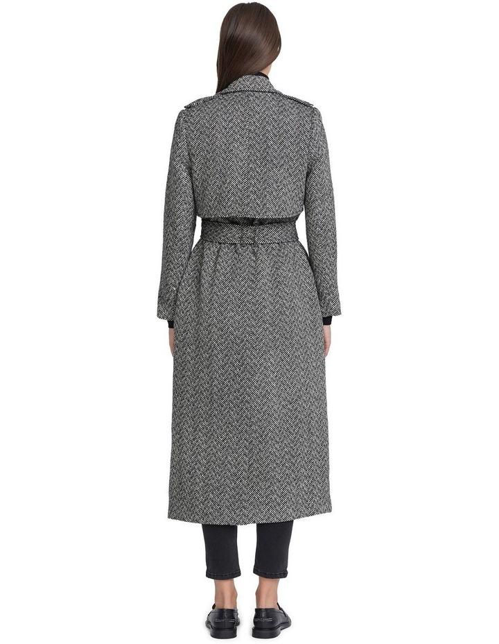 Herringbone Wool Coat image 3