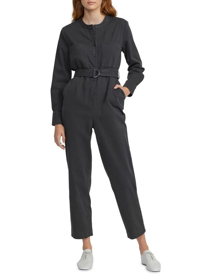 Cotton Belted Jumpsuit image 1