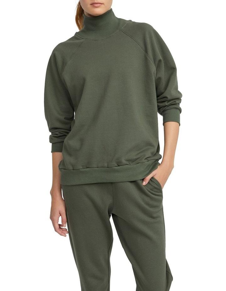 Organic Cotton Funnel Neck Sweater image 1