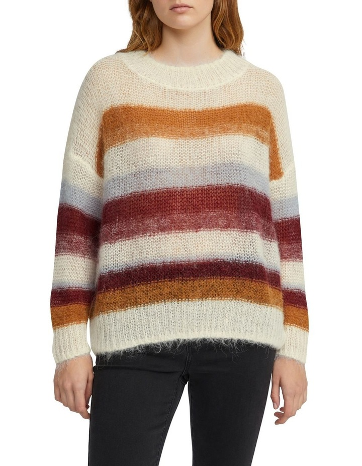Oversized Stripe Knit image 1