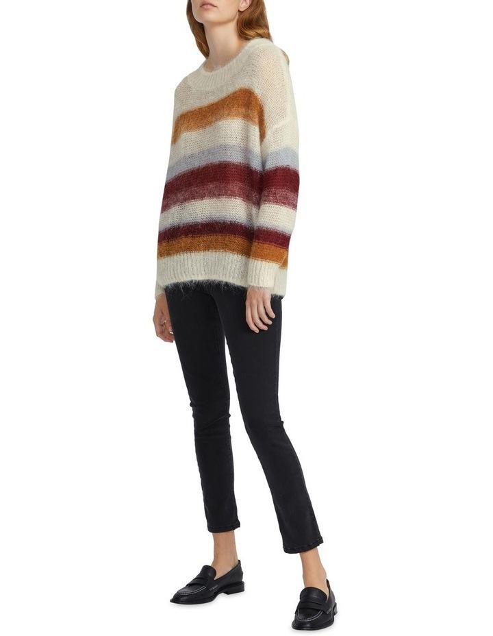 Oversized Stripe Knit image 2