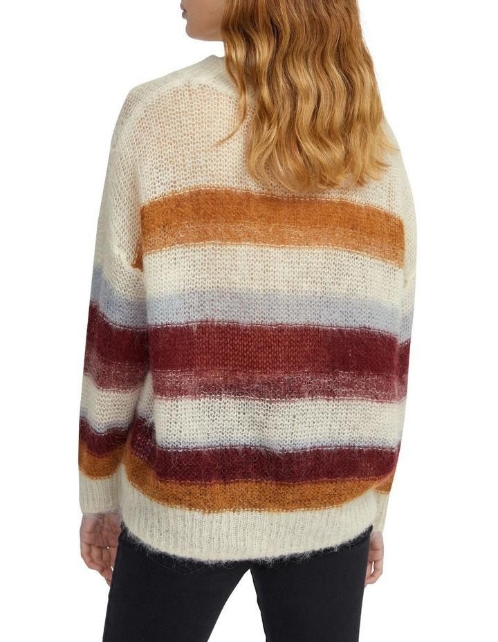 Oversized Stripe Knit image 3