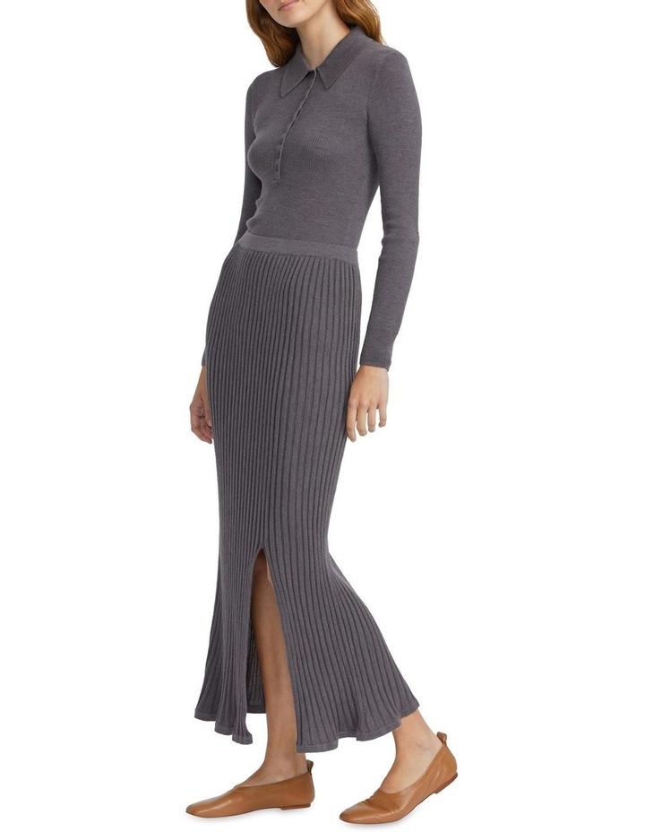 Merino Knitted Midi Skirt image 1