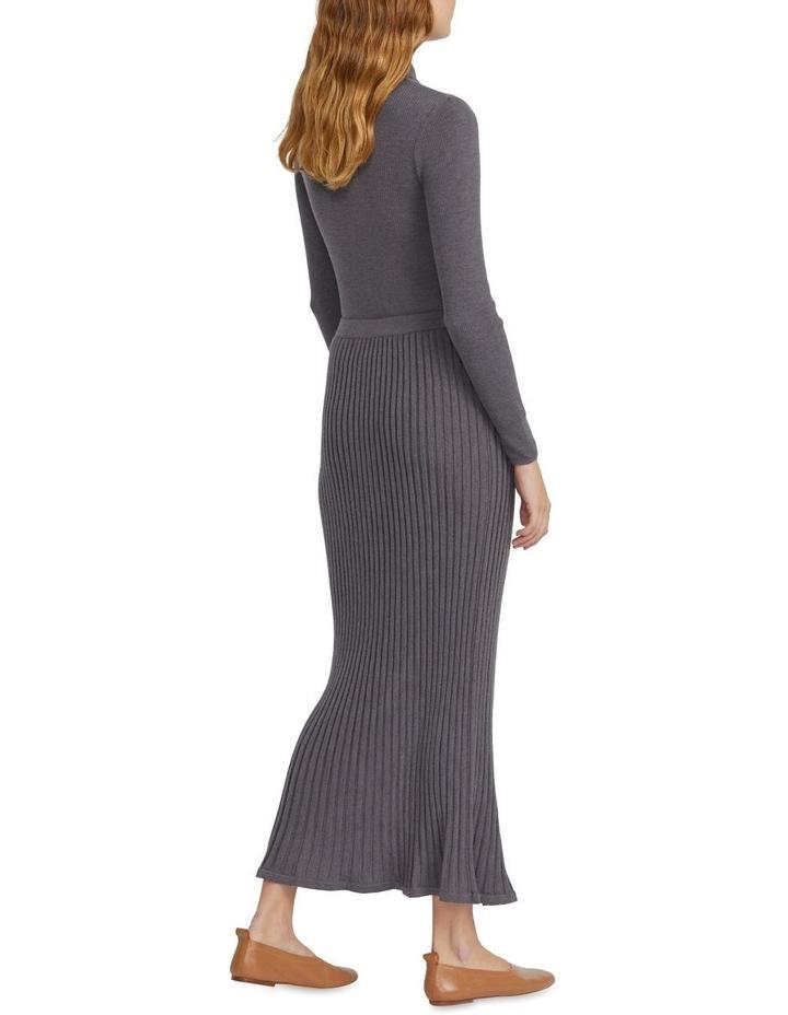Merino Knitted Midi Skirt image 3