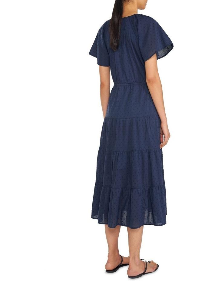 Cotton Dobby Tiered Maxi Dress image 3