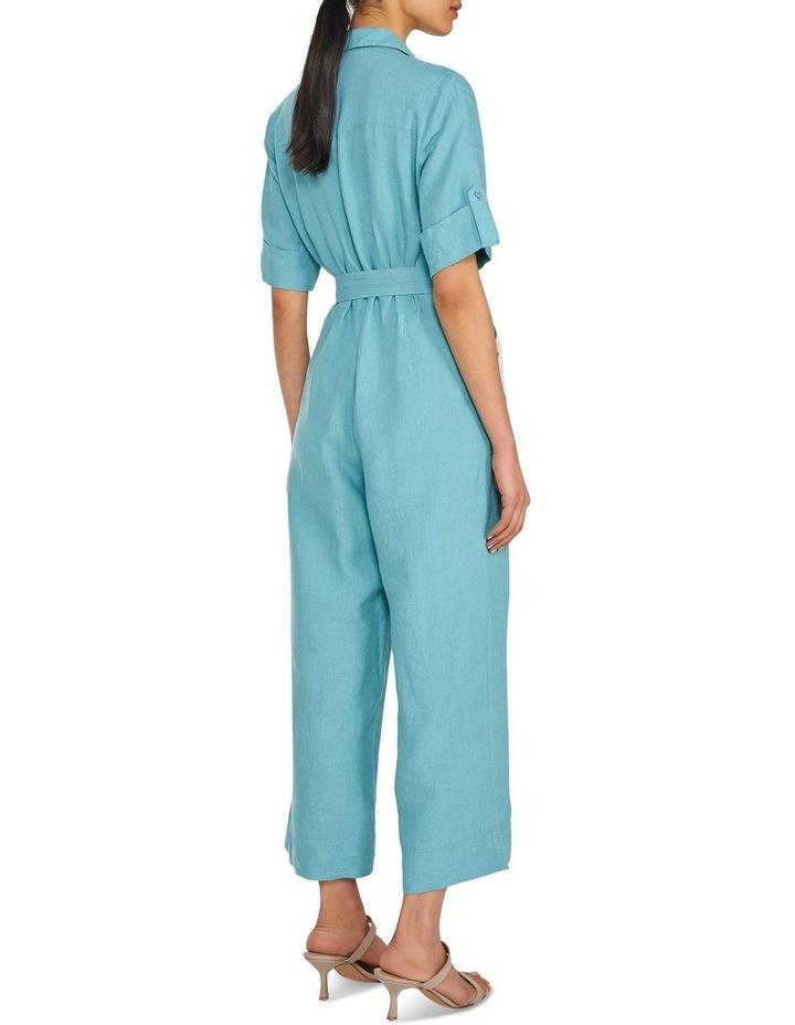 Linen Belted Jumpsuit image 3