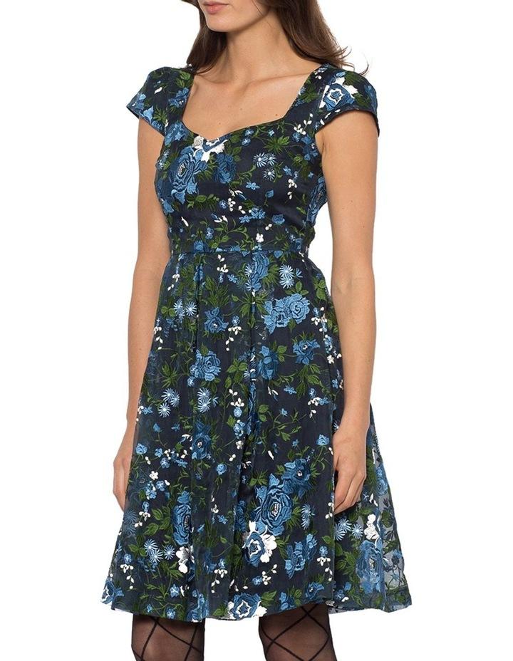 Dainty Rosette Dress image 3