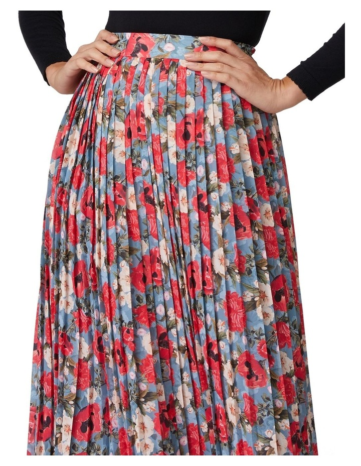 Dancing Poppies Skirt image 3