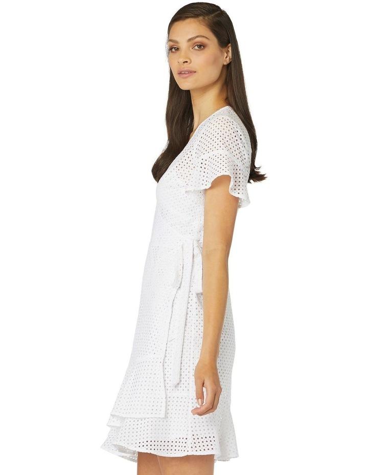 Petite Lace Wrap Dress image 2