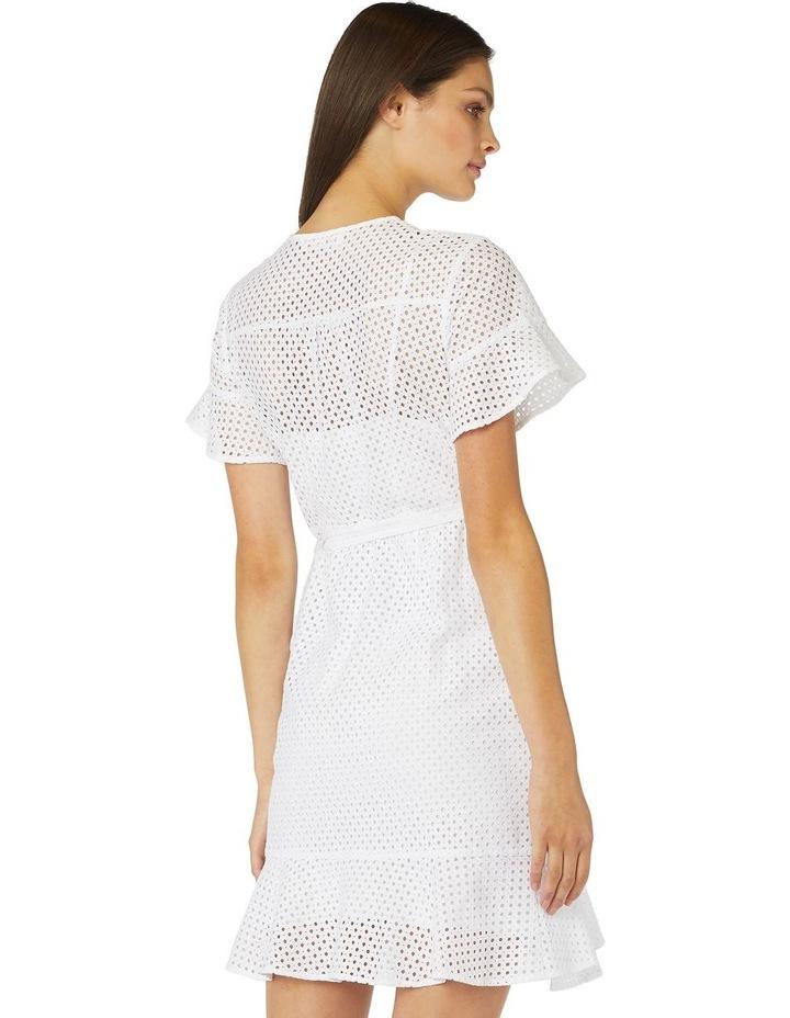 Petite Lace Wrap Dress image 3