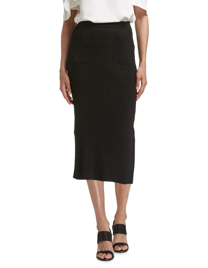 Victoria Column Knit Skirt image 1