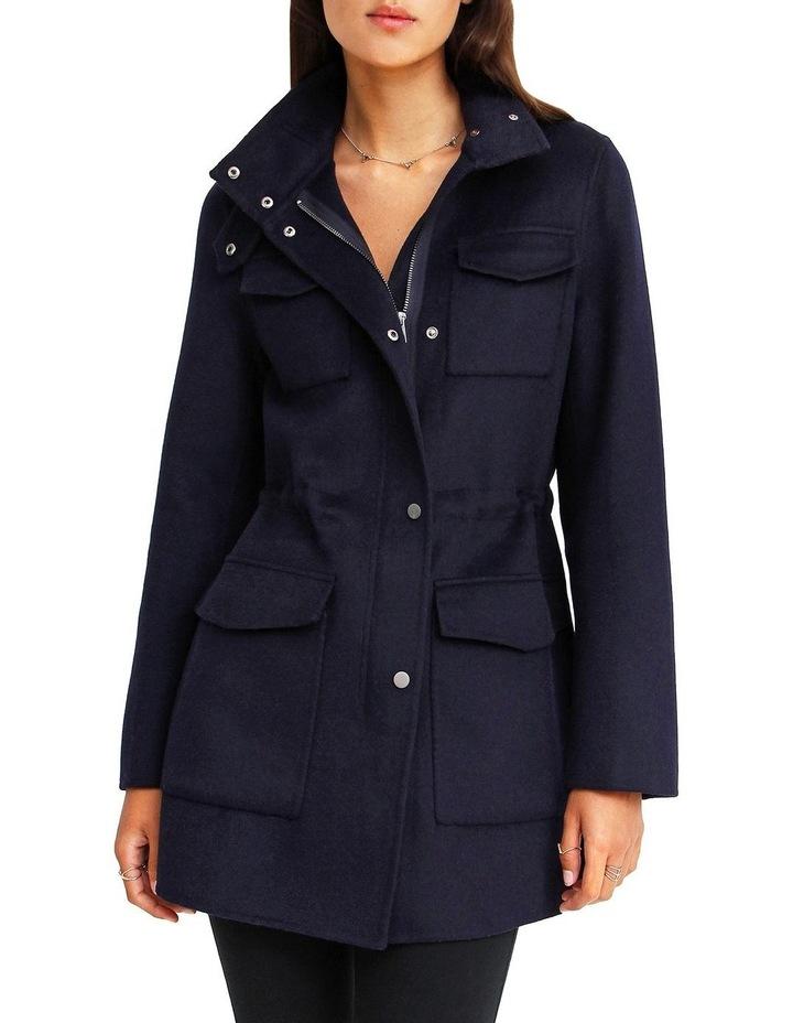 Heartbreaker Wool Blend Utility Coat image 1