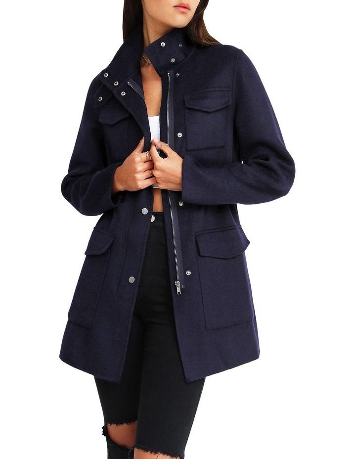 Heartbreaker Wool Blend Utility Coat image 4