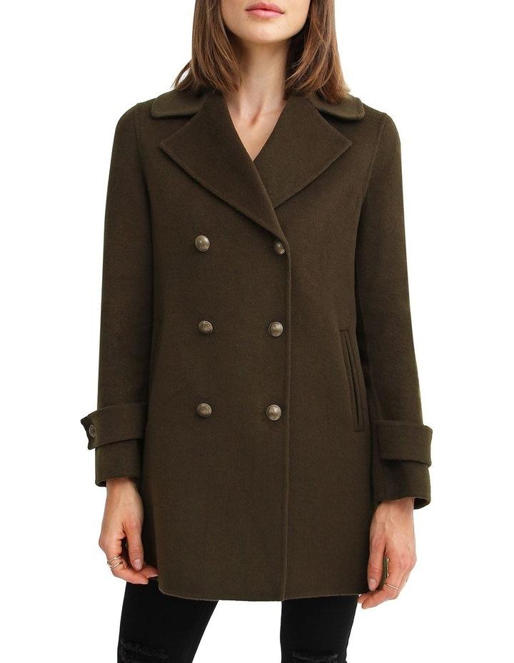 Liberty Sherpa Collar Wool Blend Coat image 6