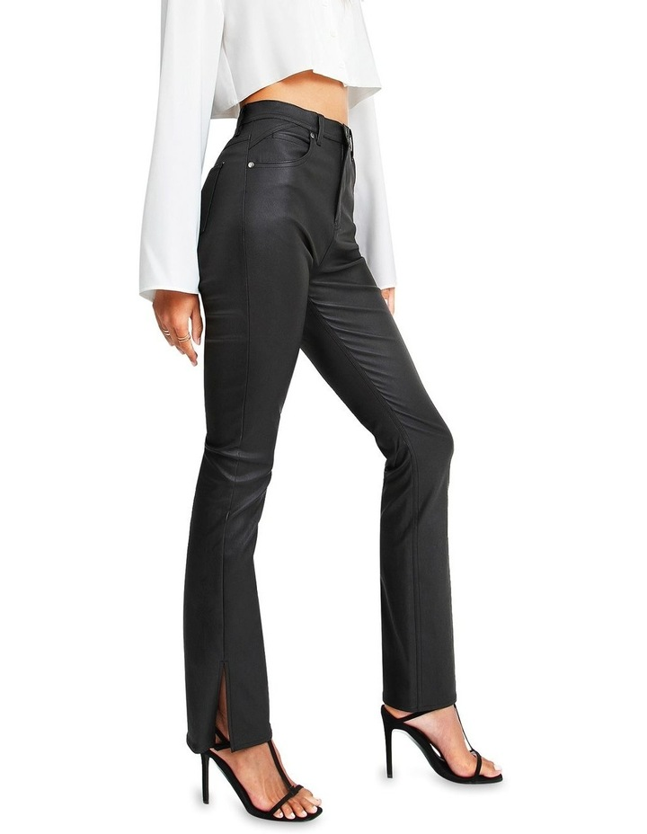 Take Me Out Pleather Pant image 2