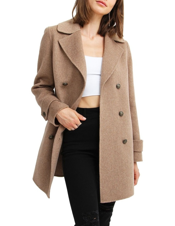 Liberty Sherpa Collar Wool Blend Coat image 5