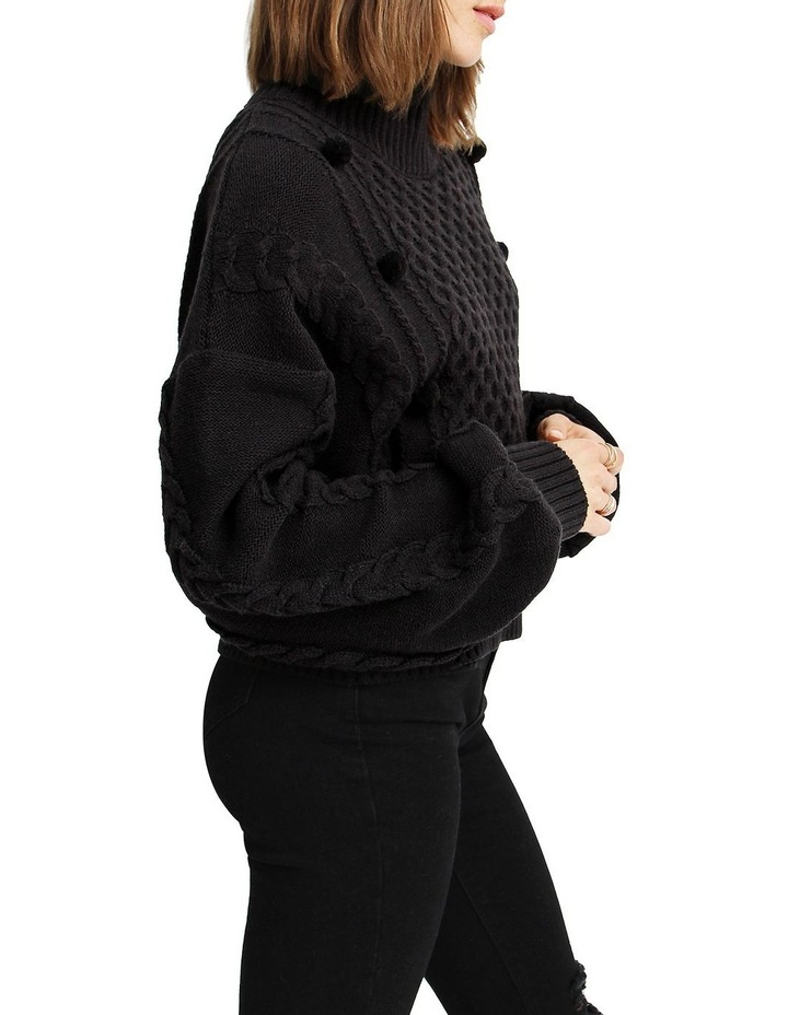 Higher Love Cropped Cable Knit Jumper image 2