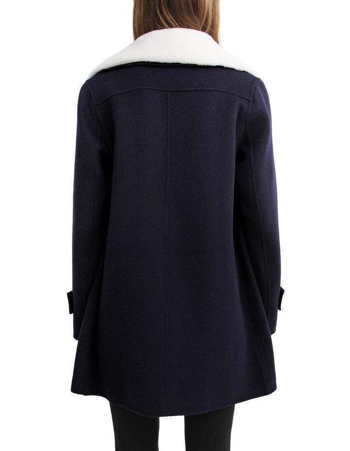 Liberty Sherpa Collar Wool Blend Coat image 3