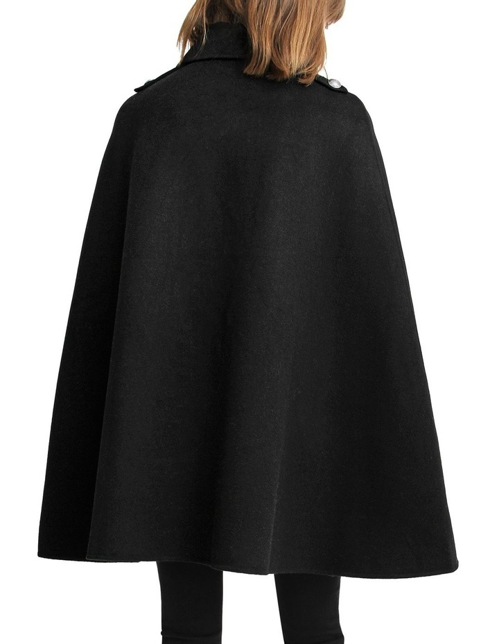 On My Mind Wool Blend Cape image 3