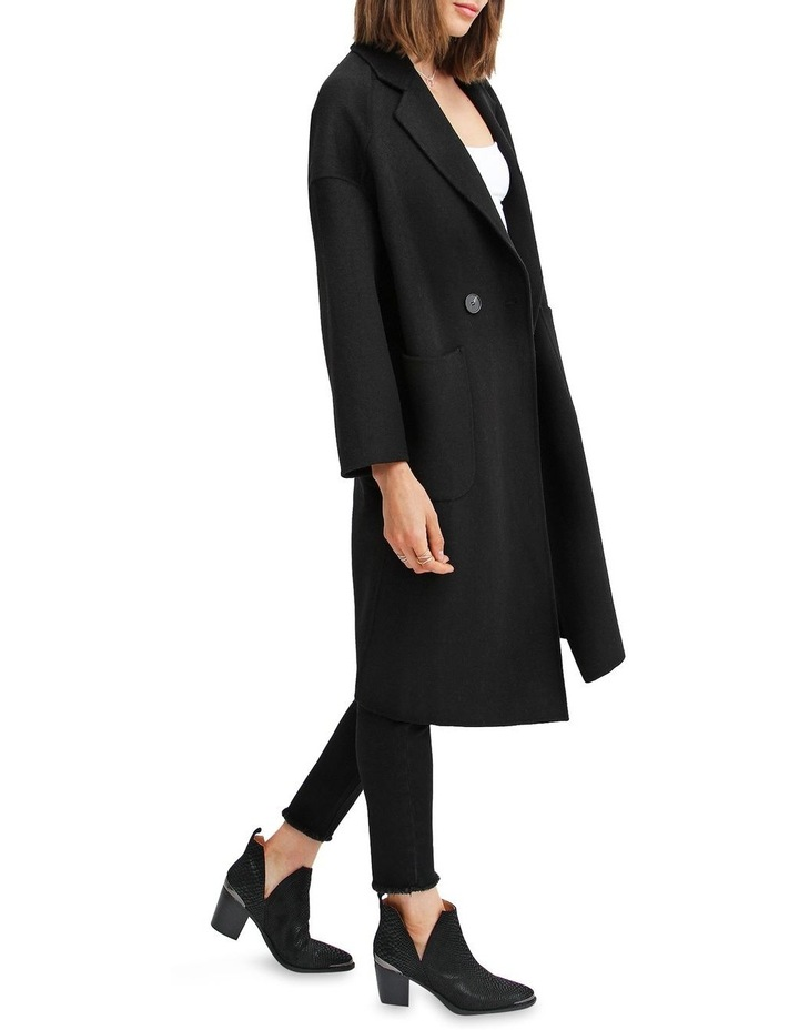 Publisher Double-Breasted Wool Blend Coat image 2
