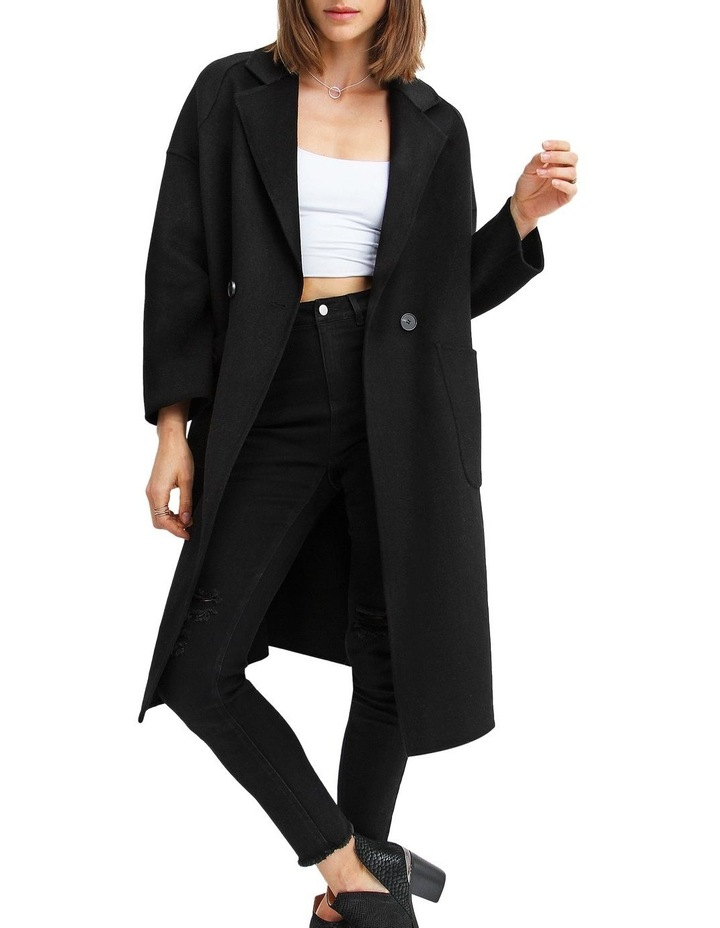 Publisher Double-Breasted Wool Blend Coat image 4