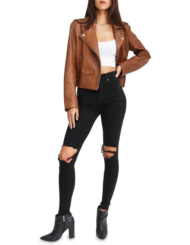 Just Friends Leather Jacket image 4
