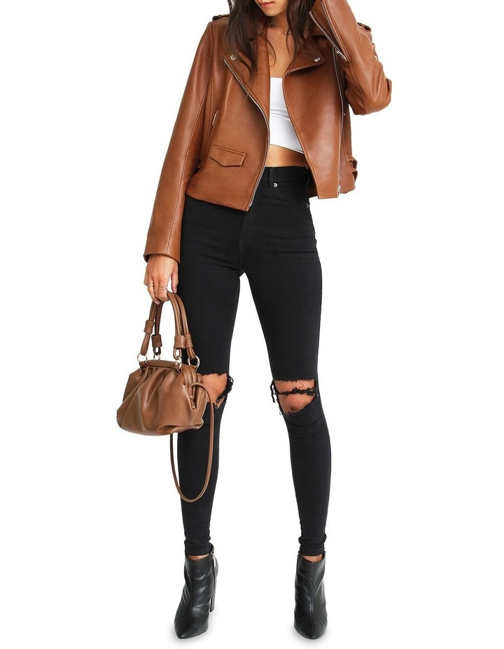 Just Friends Leather Jacket image 6