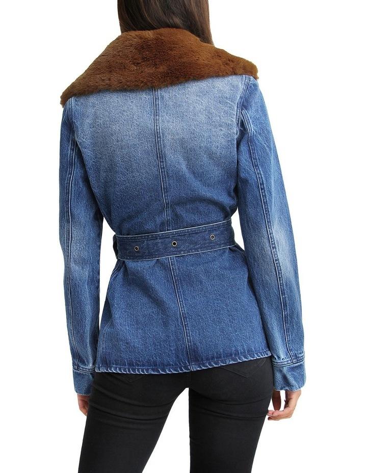Best Life Belted Denim Jacket image 3