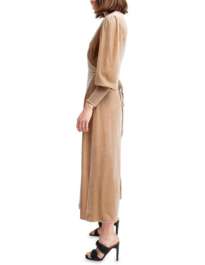 Current Mood Velvet Wrap Dress image 2