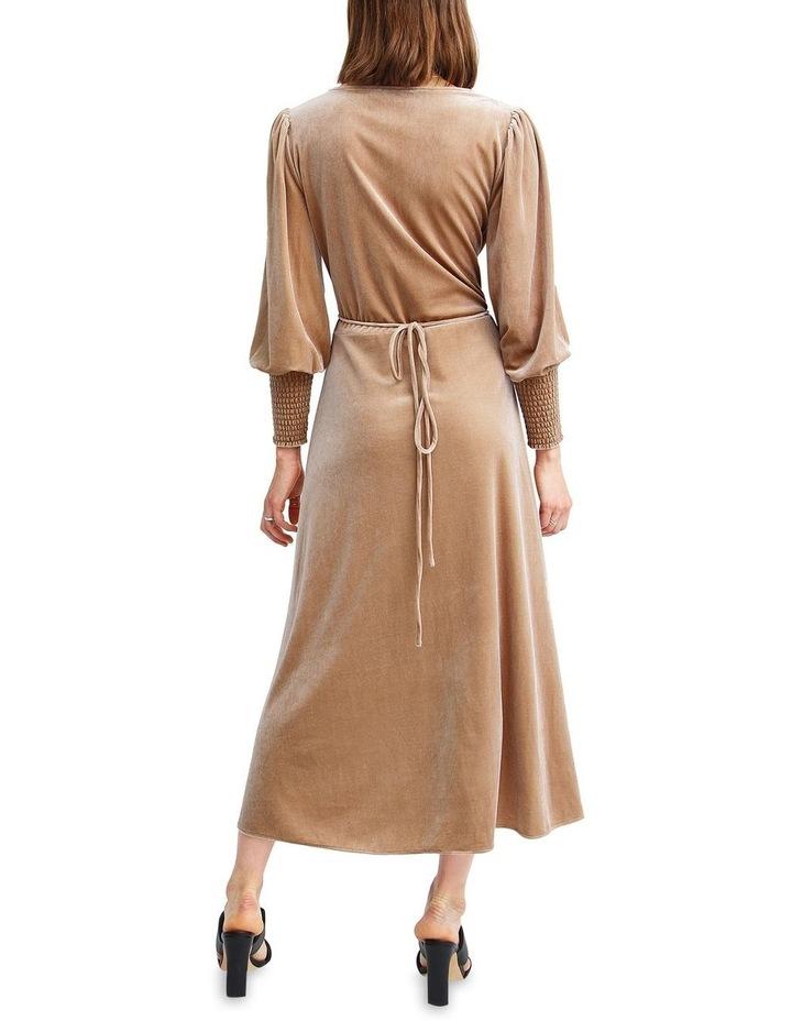 Current Mood Velvet Wrap Dress image 3