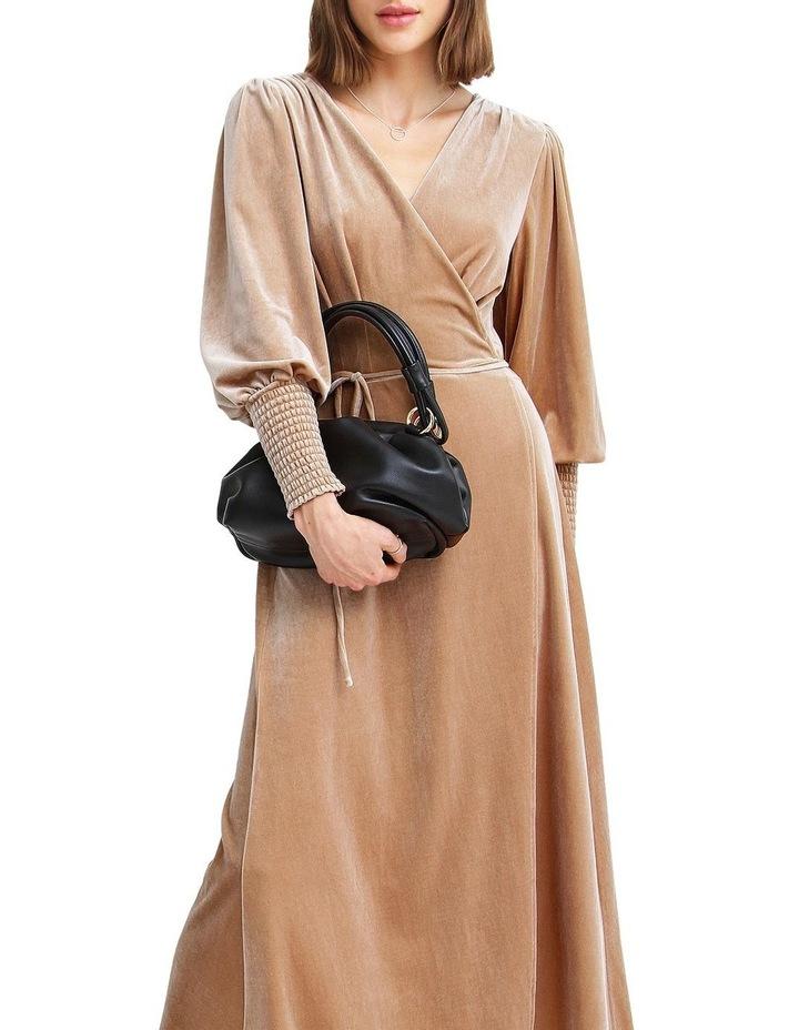 Current Mood Velvet Wrap Dress image 4