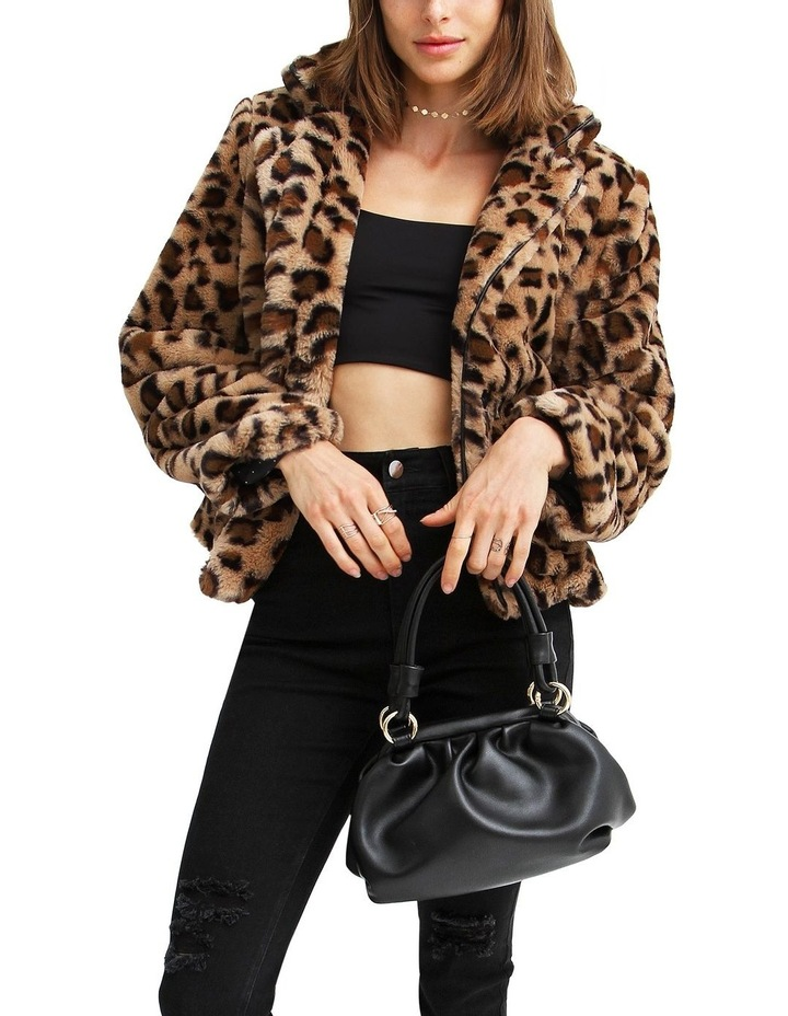 Last Call Leopard Faux Fur Jacket image 5