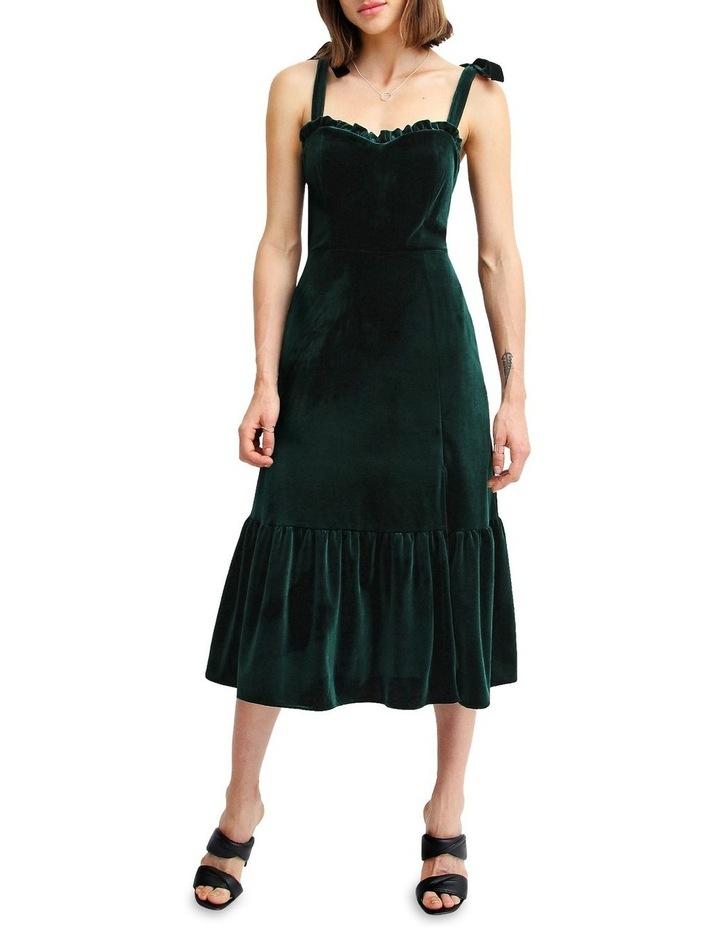 Summer Storm Velvet Mini Dress image 1