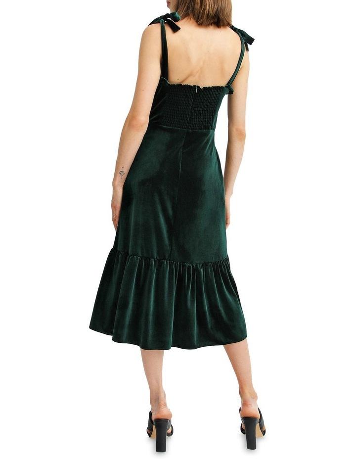 Summer Storm Velvet Mini Dress image 3