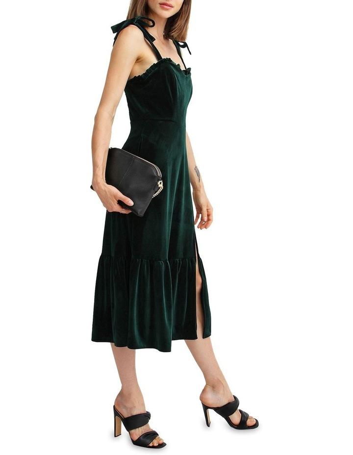 Summer Storm Velvet Mini Dress image 5