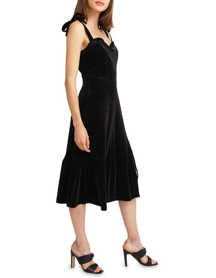Summer Storm Velvet Mini Dress image 2