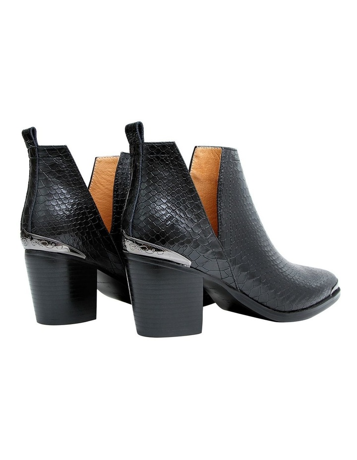 Austin Croc Embossed Ankle Boot image 3